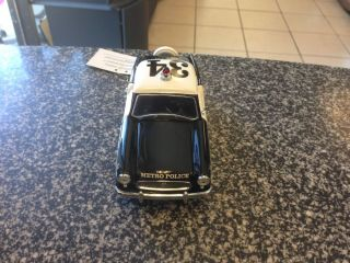 1956 Nash Metropolitan Police Chief 1 24 Franklin Mint Precision Diecast Car