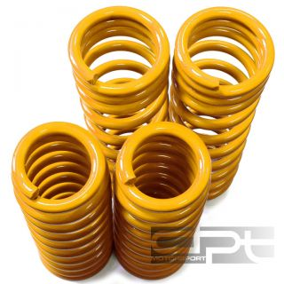 "Eclipse 2G Eagle Talon Yellow Suspension Coil lowering Springs 2""Front Rear Drop"