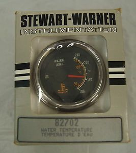 Stewart Warner 82702 Water Temperature Gauge BLS 5655