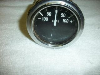Stewart Warner Amp Meter Gauges Hot Rat Rod Vintage Car Truck Amperes SW 100