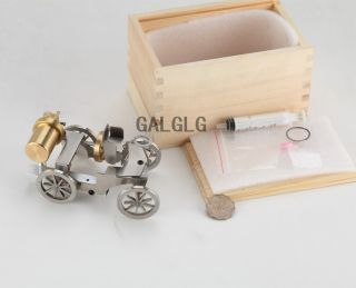 Micro Steam Engine Model Car  Worldwide