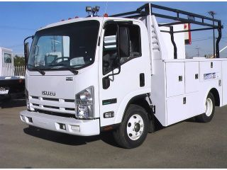 $699 Month New Isuzu NPR Eco Max Diesel Plumbers Utility Service 16 19MPG