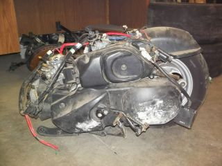 2009 Yamaha Vino 125 Scooter Engine Motor 101