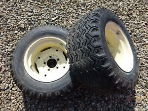 Cub Cadet 1450 Tractor Firestone 23x10 50 12 Rear Tires Rims