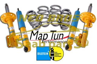 Saab 9 3 03 11 Bilstein Maptun Suspension Upgrade Kit Shocks lowering Springs