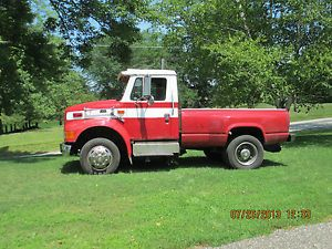 1997 International 4700 LP Pickup Truck