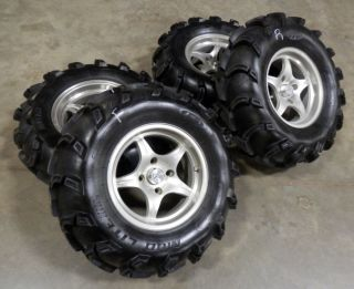 "Arctic Cat 500 4x4 HIGHLIFTER 14"" Wheels ITP MUD LITE 30"" Tires"