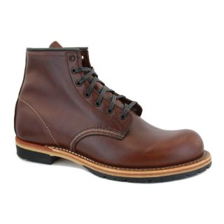 Red Wing Beckman 09016D Mens Laced Leather Boots Dark Brown