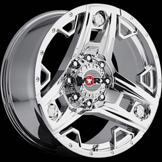 "Silverado 18"" Chrome Wheels"
