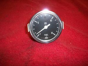 "Vintage 1960's Stewart Warner 2 5 8"" Fuel Pressure Gauge Gasser Hot Rod Rat Rod"