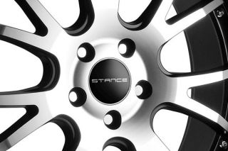 "20"" Infiniti M35 M45 Stance ST1 Machined Staggered Wheels Rims"