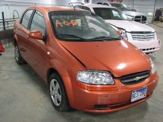 2006 Chevy Aveo 27672 Miles Steering Column Wheel 887357