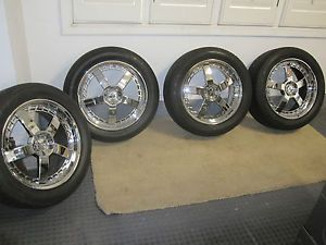 "20"" Forge Tec FT42 Forged Alloy Wheels w Yokohama Advan Sport Tires Mercedes"