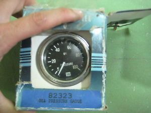 Stewart Warner Oil Pressure Gauge Meter Marine Engine Instrument Gauge