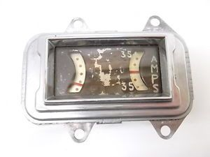 1930 's Auburn Packard Pierce Arrow Stewart Warner Amp Fuel Gauge Cluster