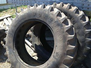 2 14 9 30 Firestone FWA or Rear Tractor Tires 10 Ply No Rims