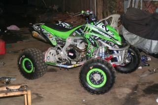 Kawasaki KFX 450R Monster Graphic Kit Full Decal Kit Set