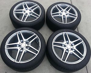 2012 2012 Mercedes Benz E63 E550 AMG Wheels Rims Continental Tires 18