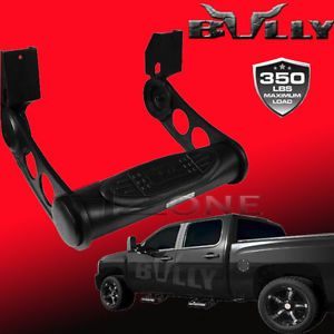 "1pc 3"" Tube Universal Black Nerf Side Step Bar Bully Adjustable Pickup Truck SUV"