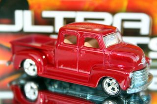 Hot Wheels Ultra Hots '50s Chevy Truck Red