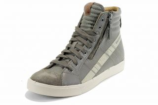 Diesel Men's Fashion Sneakers D String Bungee Cord Cobblestone Shoes