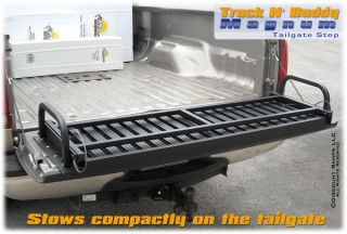 Magnum Truck N' Buddy Truck Bed Step Ladder Dog Stair