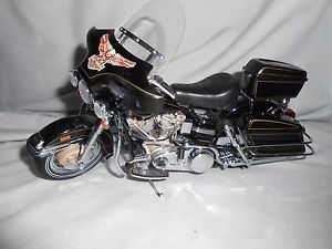 Franklin Mint 1 10 Scale Harley Davidson 1976 Electra Glide 1200 Parts or Repair