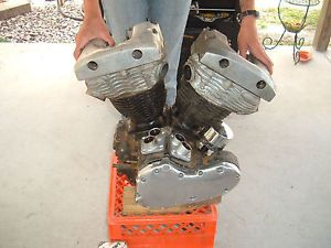 1969 66 67 68 Harley FLH Shovelhead Panhead FL Engine Motor Parts Cases