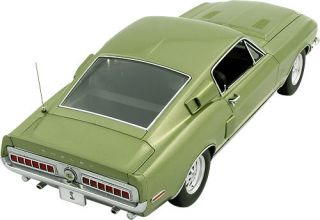 1 18 Lane 709 Ford 1968 Green Shelby Mustang GT 500 KR