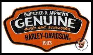 Harley Davidson Reliable Vest Patch Genuine Parts New Design