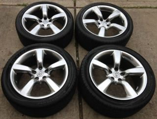 "New Takeoffs Set of 4 Nissan 350Z 18"" Factory Wheels Rims w Tires New"