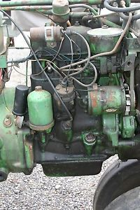John Deere Dubuque Two Cylinder Engine 420 430 440 40 320 330