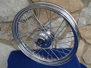 "For Harley Dyna Sportster XL 1984 99 21x2 15"" 40 Spoke Front Wheel Parts"