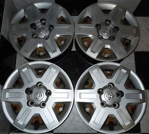 "2009 2012 Dodge Journey 2008 2012 Grand Caravan 16"" Factory Wheels Hub Caps"