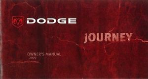 2009 Dodge Journey Owners Manual User Guide Reference Operator Book Fuses