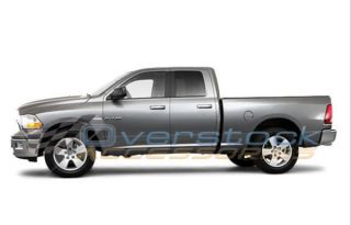 2009 2012 Dodge RAM 1500 Quad Cab 3in Stainless Steel Nerf Bars Side Rail Step