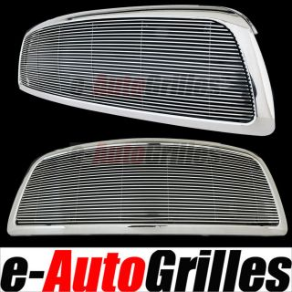 09 12 Dodge RAM 1500 4mm Billet Grille Chrome ABS Outer Shell Full Replacement
