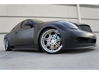 Custom Racing G35 Wide Sport Body Kit Matte Blk Nav TV DVD Heated Varianza Wheel