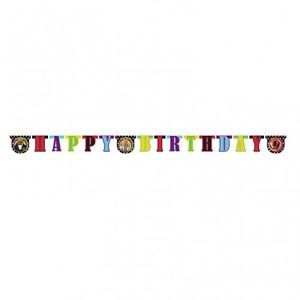 The Muppets Movie Happy Birthday Party Card Letter Banner Kermit Piggy Animal