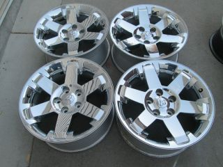 "20"" Dodge RAM 1500 Factory Chrome Clad Wheels Rims"