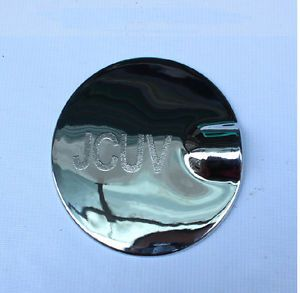 New Chrome ABS Fuel Tank Gas Cap Lid Door Cover Trim for Dodge Journey 2013