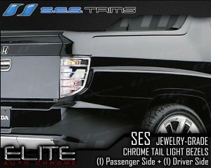 2005 2011 Honda Ridgeline Ses Chrome Tail Light Covers