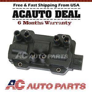 2010 New Ignition Coil on Plug Pack for Chevy GMC Pontiac Saturn Buick V6 UF434
