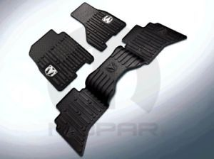 2013 Dodge RAM 1500 New Rear Slush Mat Canyon Brown Mopar Factory