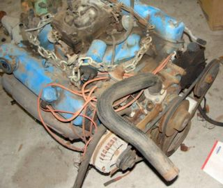 Mopar Chrysler Plymouth Dodge 440 motorhome Engine Transmission Complete