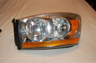2006 Dodge RAM Truck 1500 2500 3500 Drivers Side Headlight Mint Condition