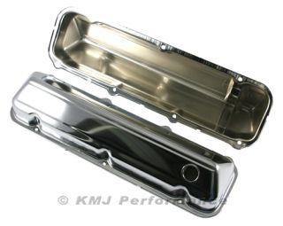 429 460 Big Block Ford Chrome Steel Valve Covers 68 Up