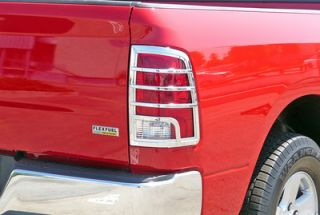09 10 RAM 1500 TFP Chrome Taillight Tail Light Covers