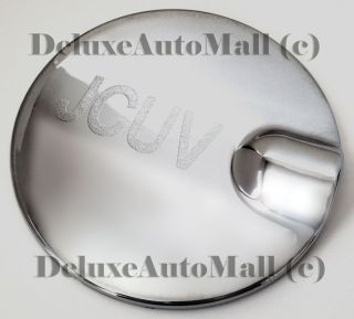 "09 2010 2011 2012 Dodge Journey Chrome ABS Door Gas Tank Cover with ""Jcuv"" Logo"