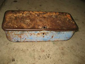 Ford 6000 Diesel Farm Tractor Tool Box